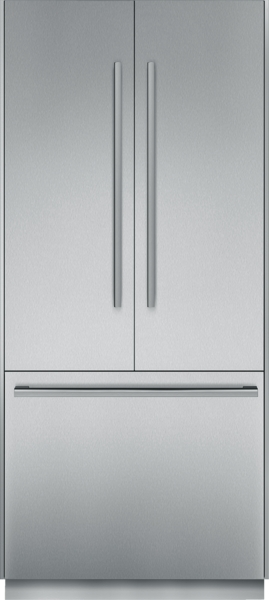 36 inch Pre-Assembled French Door Bottom Freezer with Masterpiece Handles