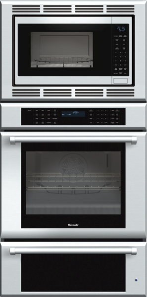 30 inch Masterpiece Series Triple Oven (oven, convection microwave and warming drawer) with professional handle