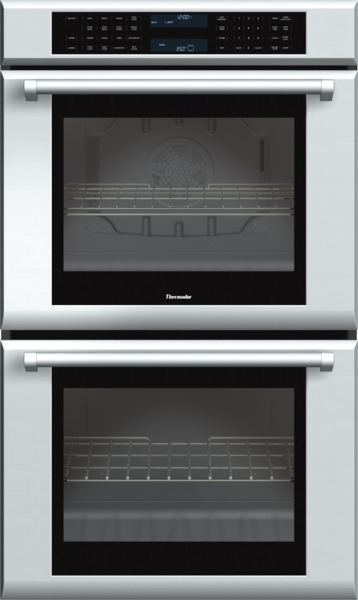 30 inch Masterpiece Series Double Oven with professional handle