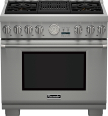36 inch Professional Series Pro Grand Commercial Depth All Gas Range