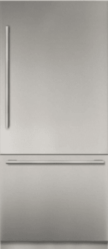 Thermador 36 - Inch Stainless Steel Built in 2 Door Bottom Freezer, Pre-Assembled, Professional Handle