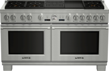 60 Inch Professional Series Pro Grand Commercial Depth Dual Fuel Range