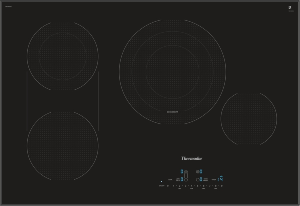 Model: CET305TB | Thermador 30 INCH MASTERPIECE SERIES ELECTRIC COOKTOP