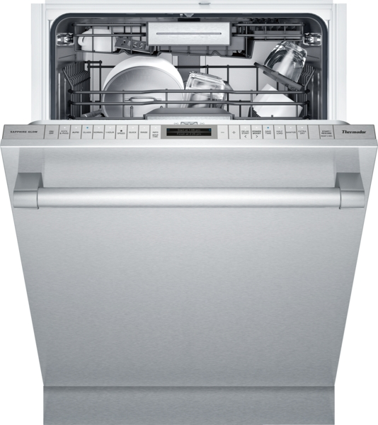 PROFESSIONAL HANDLE AND FULLY FLUSH STAINLESS STEEL PANEL STAR-SAPPHIRE 24 INCH 8 PROGRAMS AND 6 OPTIONS