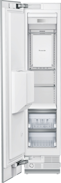 18 INCH BUILT IN FREEZER COLUMN WITH ICE & WATER DISPENSER, LEFT SWING