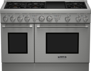 48 inch Professional Series Pro Harmony Standard Depth Dual Fuel Range
