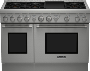 Thermador 48 inch Professional Series Pro Harmony Standard Depth All Gas Range