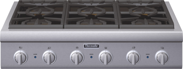 Model: PCG366G | 36 inch Professional Series Rangetop