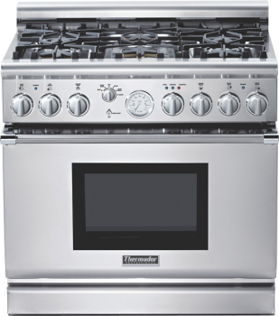 36 inch Professional Series Pro Grand Commercial Depth All Gas Range PRG366EG