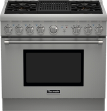 36 inch Professional Series Pro Harmony Standard Depth All Gas Range