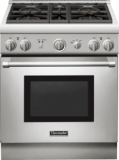 Thermador 30 inch Professional Series Pro Harmony Standard Depth All Gas Range