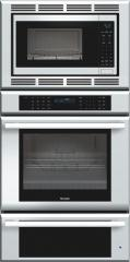 30 inch Masterpiece Series Triple Oven (oven, convection microwave and warming drawer) MEMCW301ES