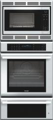 27 inch Masterpiece Series Triple Oven (oven, convection microwave and warming drawer) MEMCW271ES