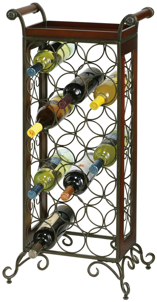"Howard Miller WINE BUTLER 36"" H WRT IRO"