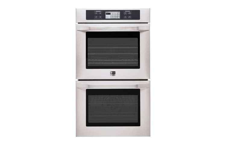 LG Studio - 4.7(x2) cu.ft. Capacity 30 Built-in Double Wall Oven with Convection System