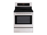 6.3 cu. ft. Capacity Electric Single Oven Range with True Convection and EasyClean