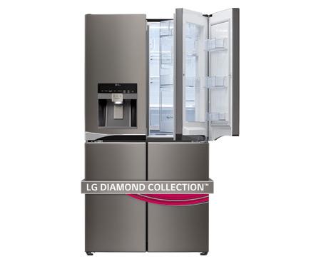 LG Diamond Collection  4 Door Refrigerator with Double Door-in-Door