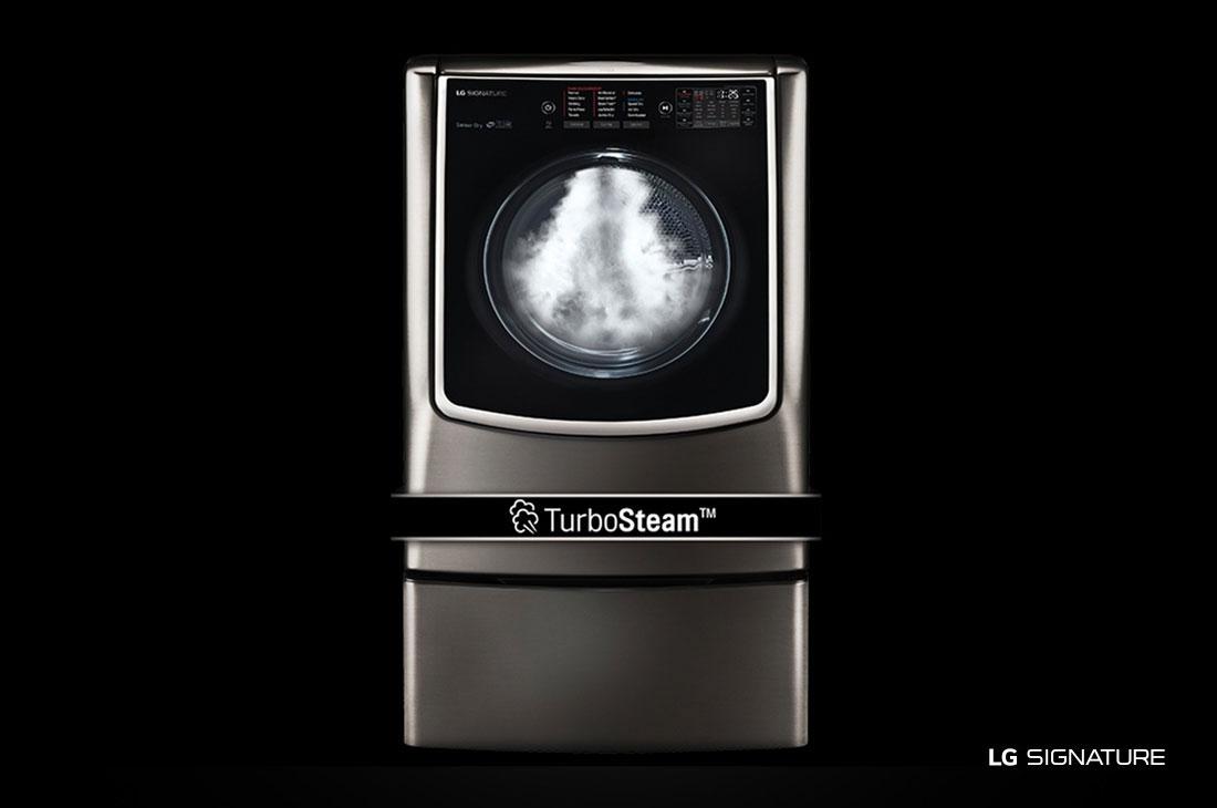 LG SIGNATURE 9.0 Mega Capacity TurboSteam™ Gas Dryer
