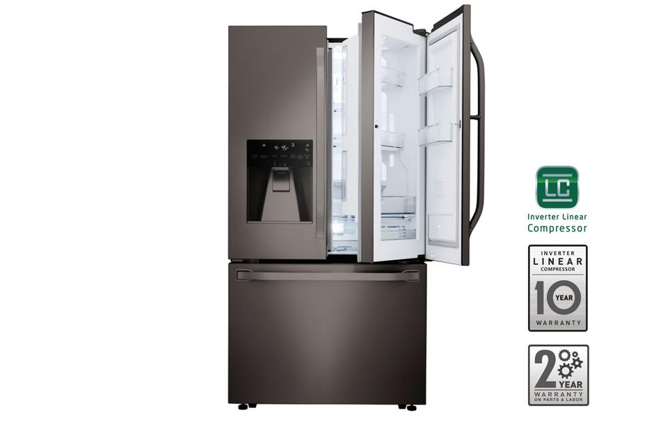 LG STUDIO – 24 cu. ft. Counter-Depth French Door Refrigerator with Door-in-Door®