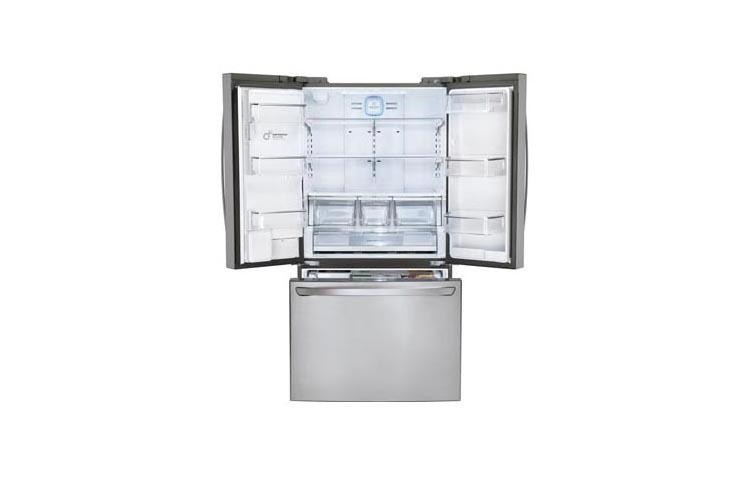 Lg Lfxc24726s 24 Cu Ft French Door Counter Depth Refrigerator