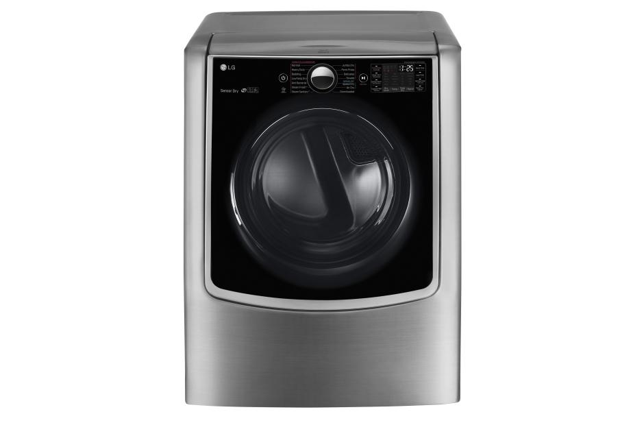 9.0 cu.ft. Mega Capacity TurboSteam™ Electric Dryer w/ On-Door Control Panel