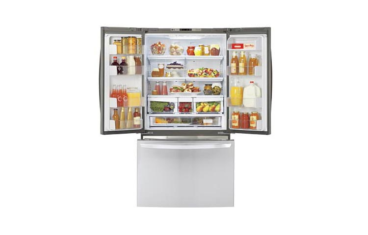 Lg Lfc21776st 21 Cu Ft French Door Counter Depth Refrigerator