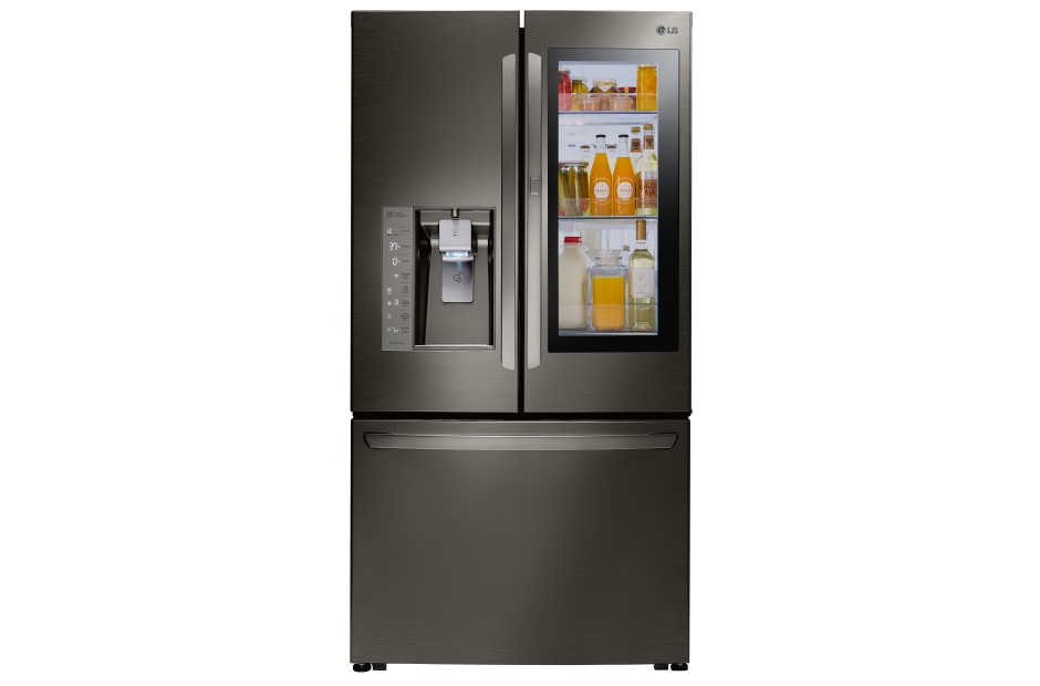 LG Black Stainless Steel Series 24 cu. ft. InstaView™ Door-in-Door® Counter-Depth Refrigerator