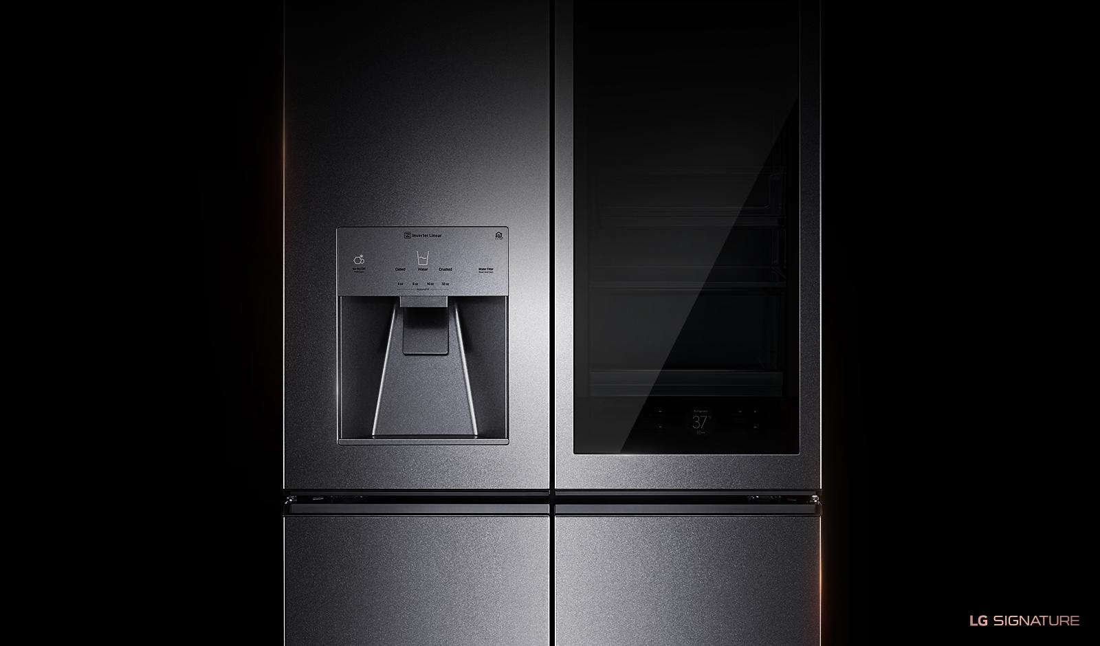 LG SIGNATURE 23 cu. ft. InstaView™ Door-in-Door® Counter-Depth Refrigerator