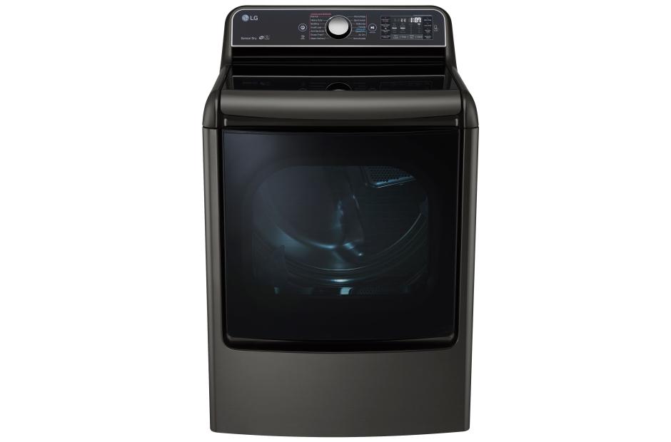 9.0 Cu. Ft. Mega Capacity TurboSteam™ Electric Dryer With EasyLoad™ Door