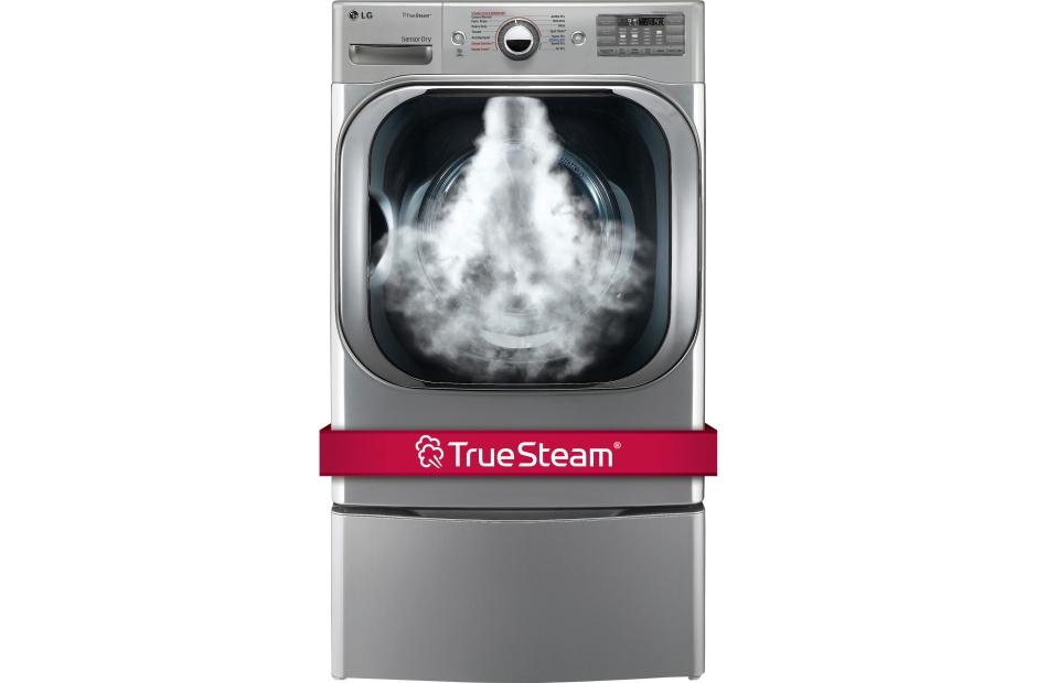 9.0 cu. ft. Mega Capacity Gas Dryer w/ Steam™ Technology
