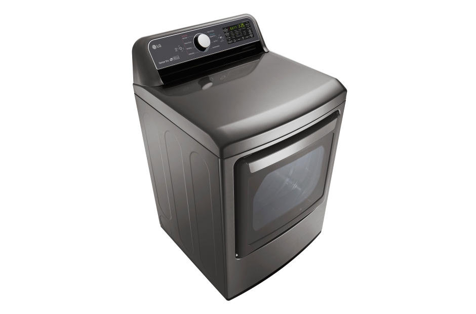Model: DLE7200VE | LG 7.3 cu. ft. Ultra Large Capacity Electric Dryer with Sensor Dry Technology