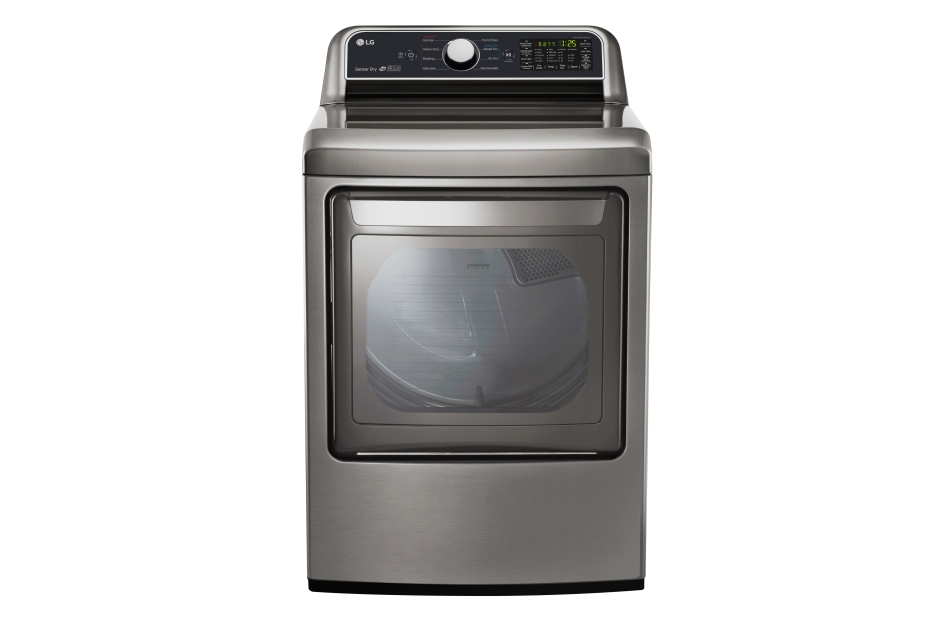 LG 7.3 cu. ft. Ultra Large Capacity Gas Dryer with Sensor Dry Technology