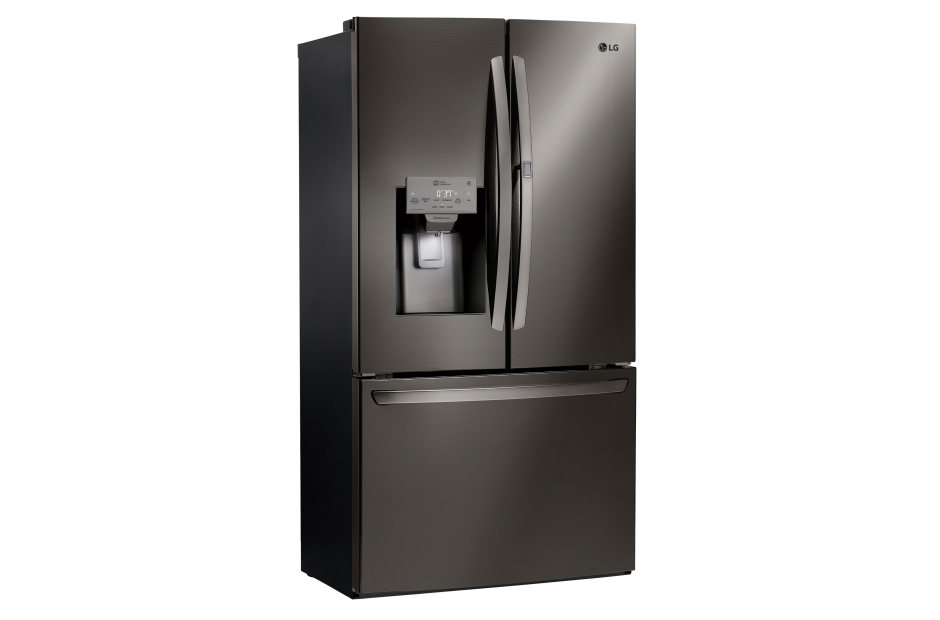 LG LG Black Stainless Steel Series 28 cu.ft. Capacity 3-Door Refrigerator with Door-in-Door