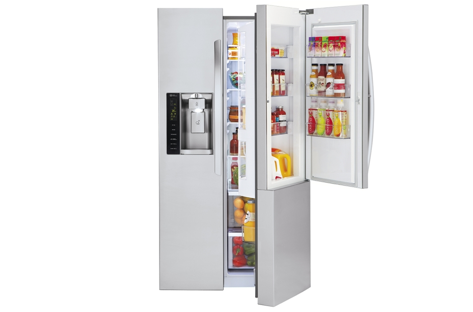 22 cu. ft. Side-By-Side Counter-Depth Refrigerator w/Door-in-Door