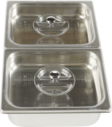 basins for steam cooking