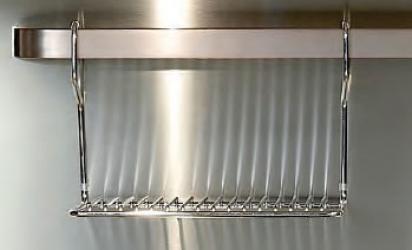 Ilve warming shelf for backsplash