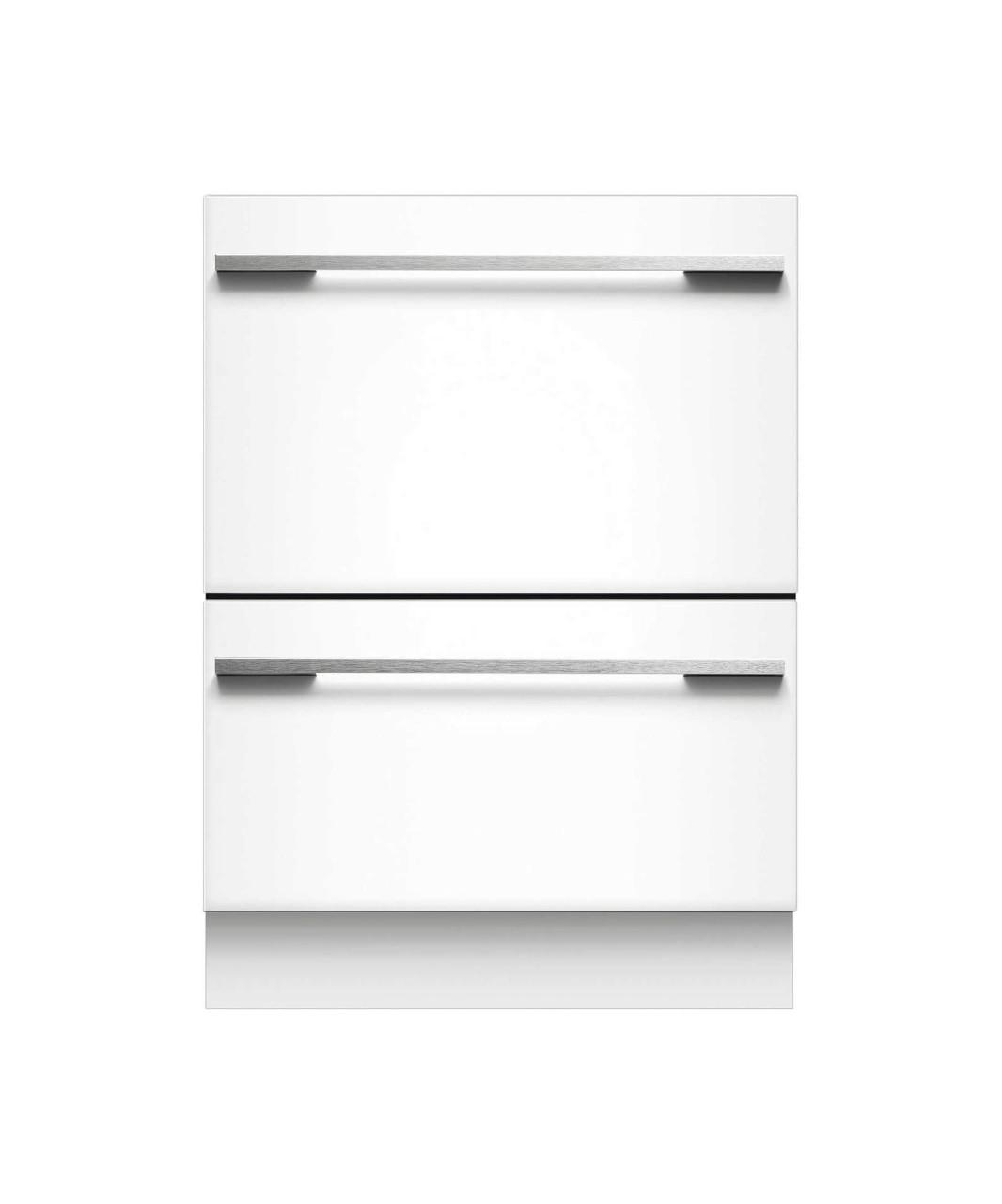 Panel Ready Double DishDrawer dishwasher incl full flex racking