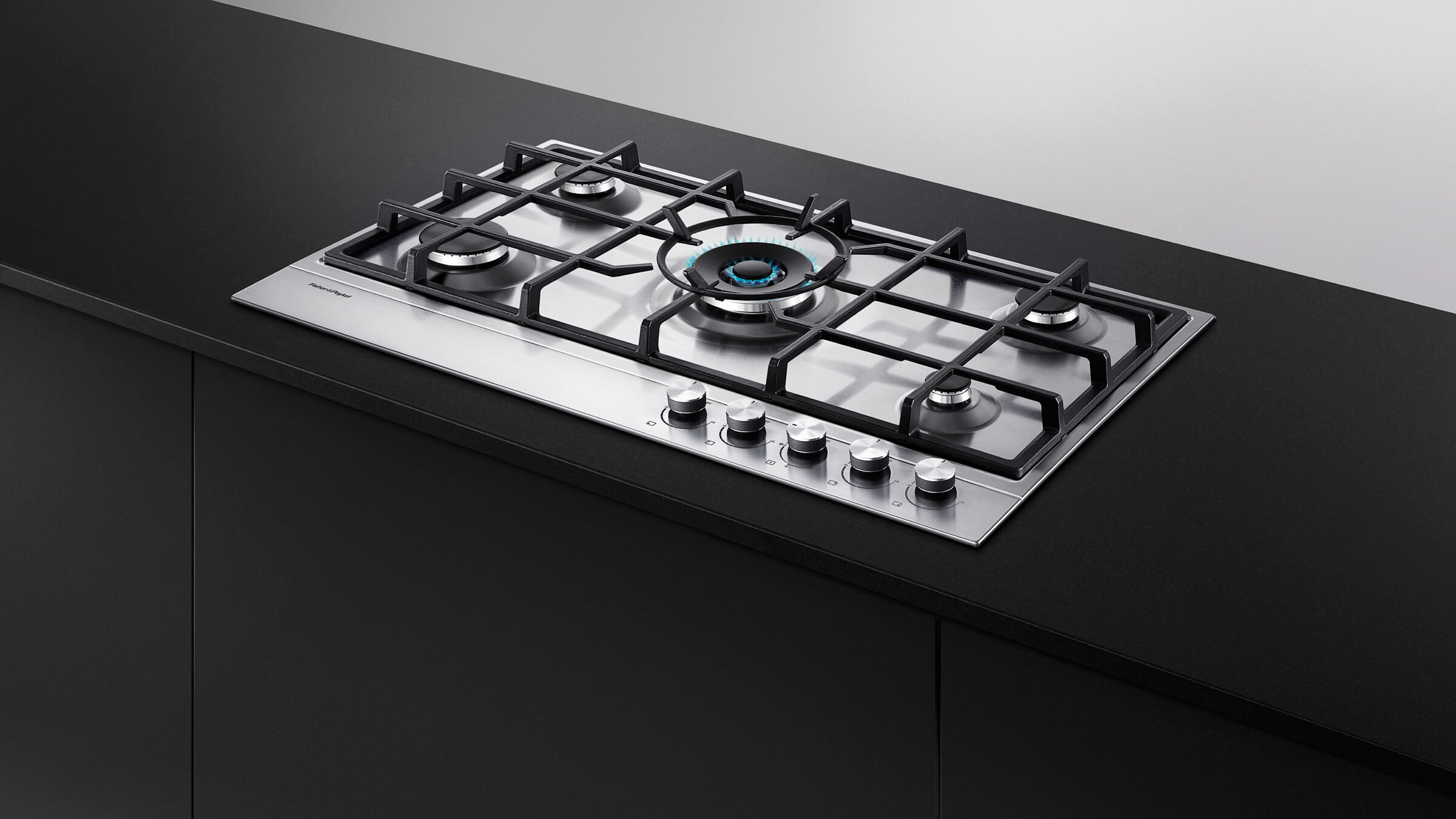 NG Gas on Steel Cooktop 36