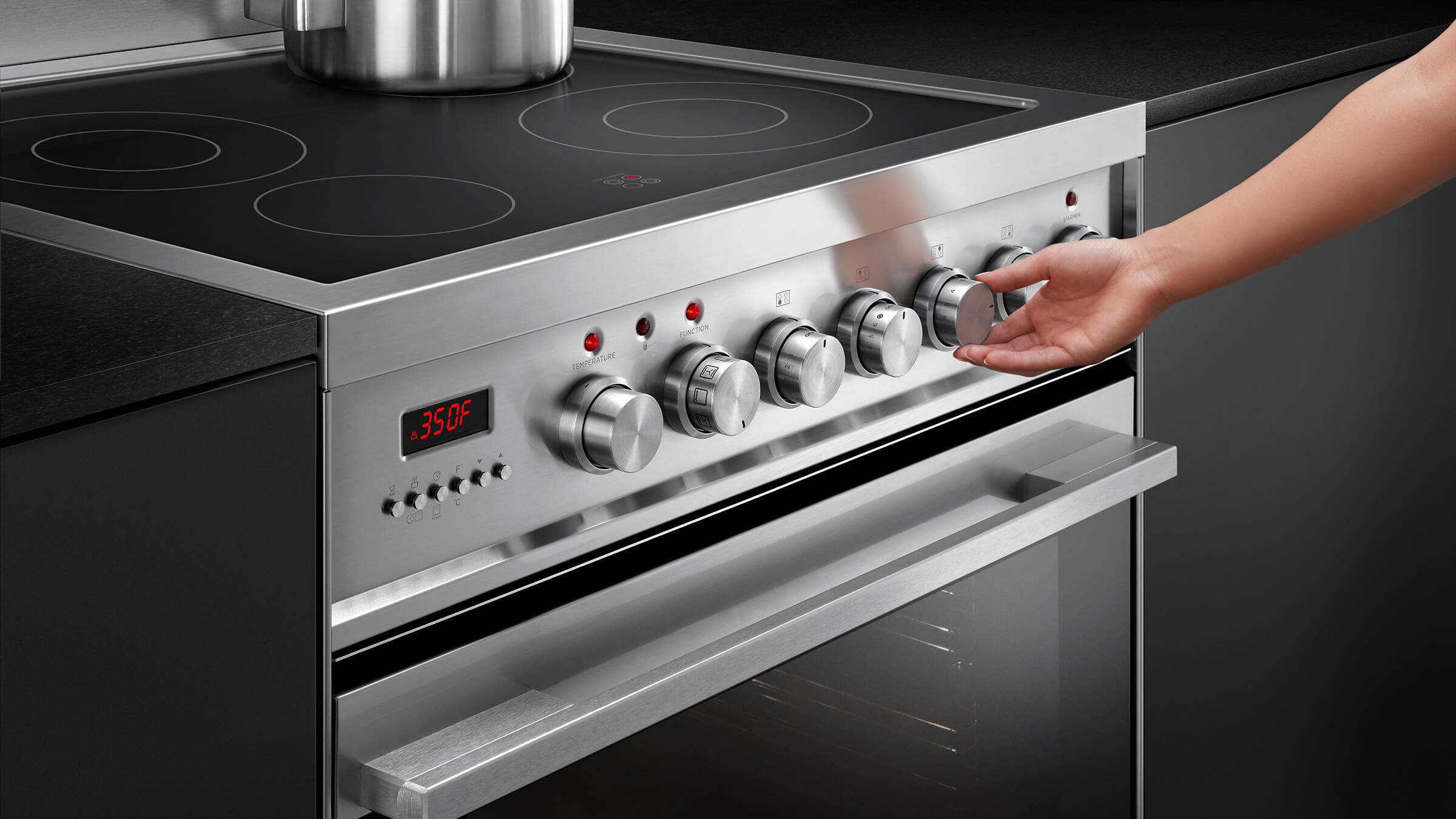 electric range vintage electric range 30 self cleaning fisher and paykel or30sdpwsx1