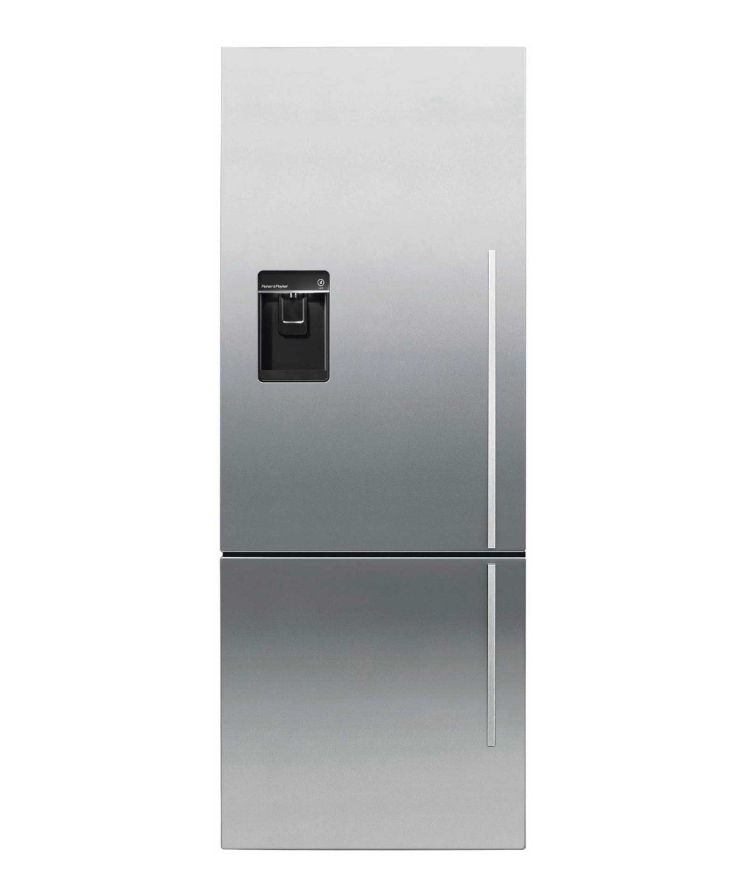 Fisher and Paykel SCRATCH AND DENT---Counter Depth Refrigerator 13.5 cu ft, Ice & Water
