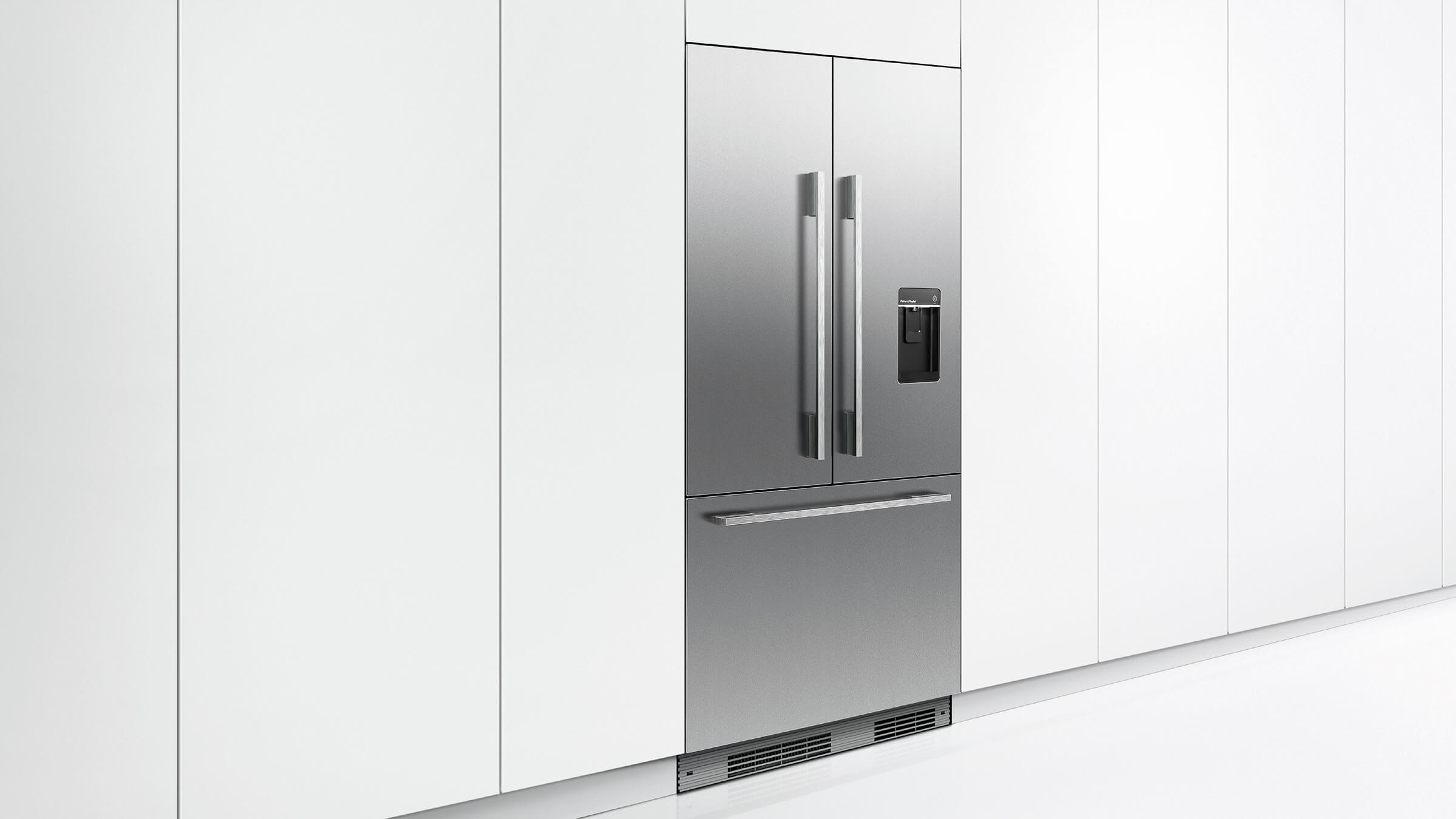 Fisher And Paykel Rs36a72u1 Integrated French Door Refrigerator