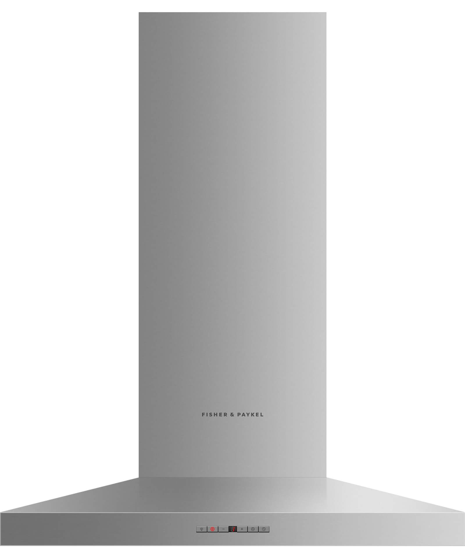 "Fisher and Paykel Wall Chimney Vent Hood, 30"", Pyramid"
