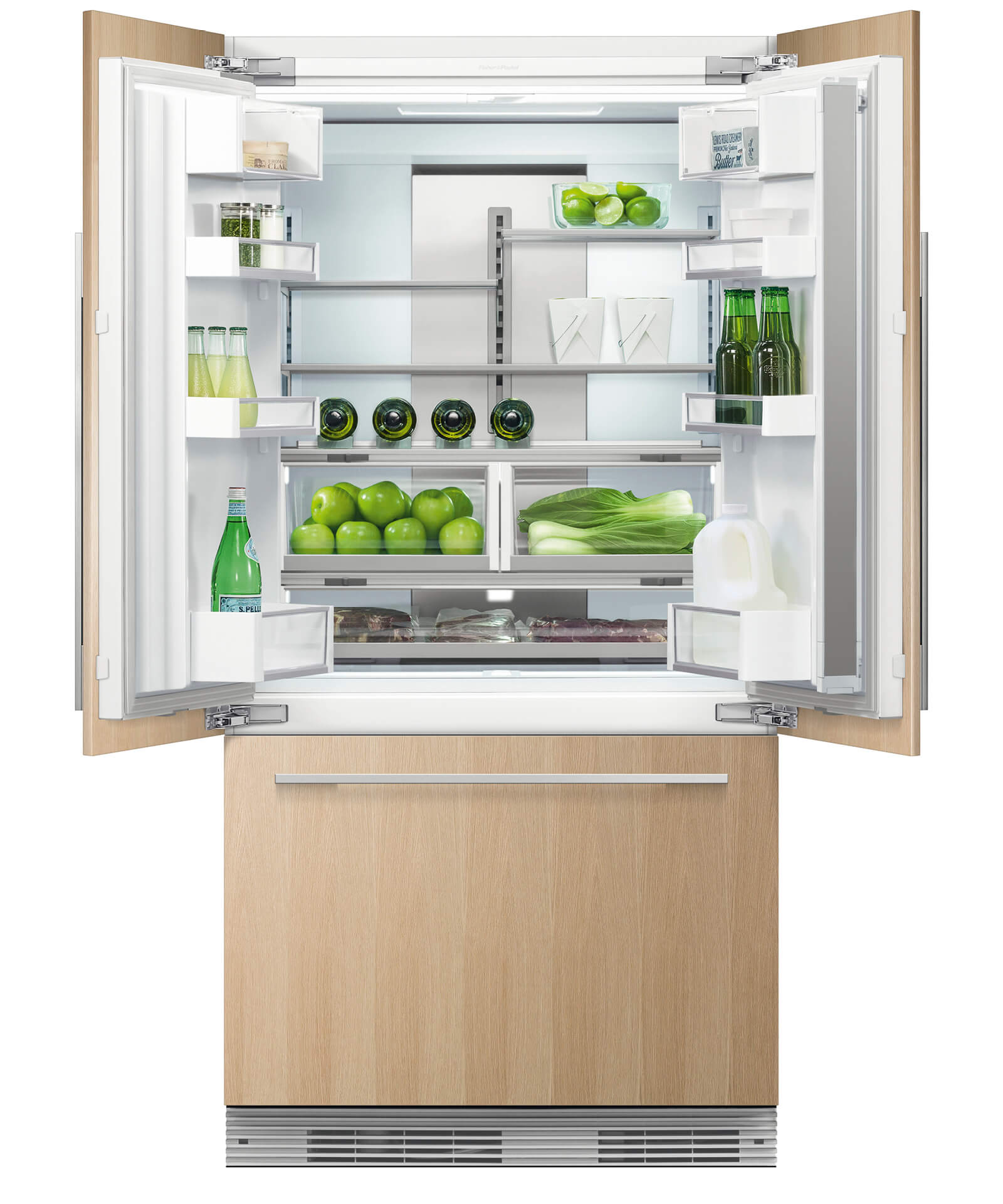 Fisher And Paykel Rs36a72j1 Integrated French Door Refrigerator