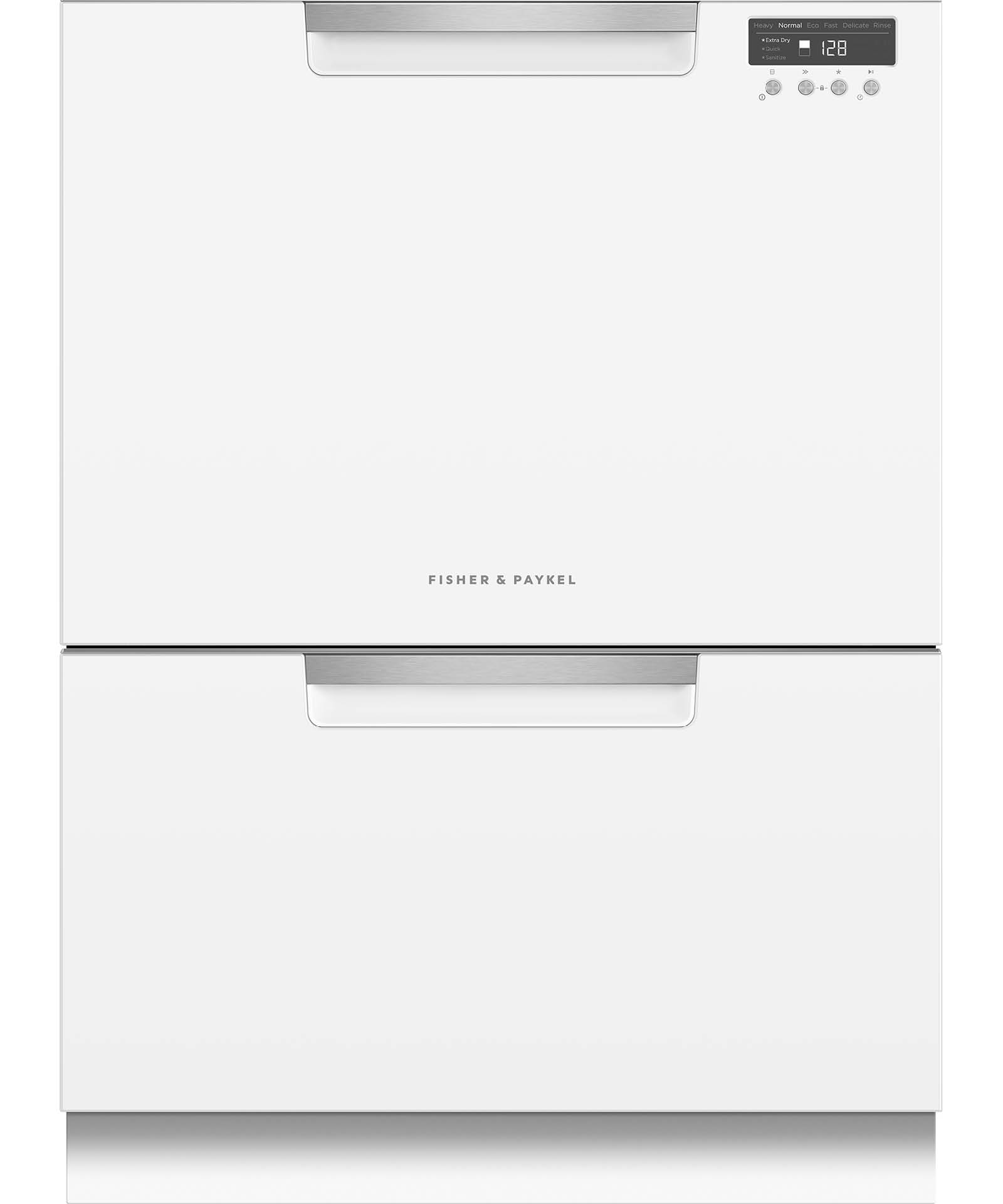 Double DishDrawer, 14 Place Settings, Sanitize (Tall)