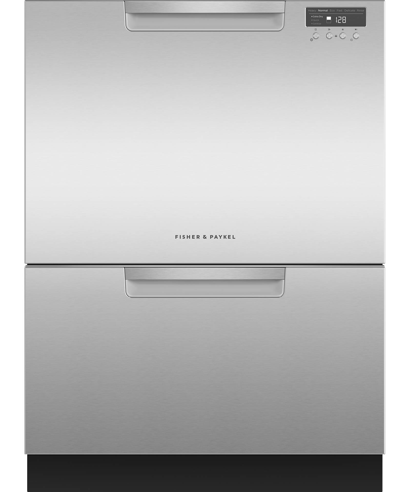 SCRATCH & DENT--Double DishDrawer, 14 Place Settings, Sanitize (Tall)