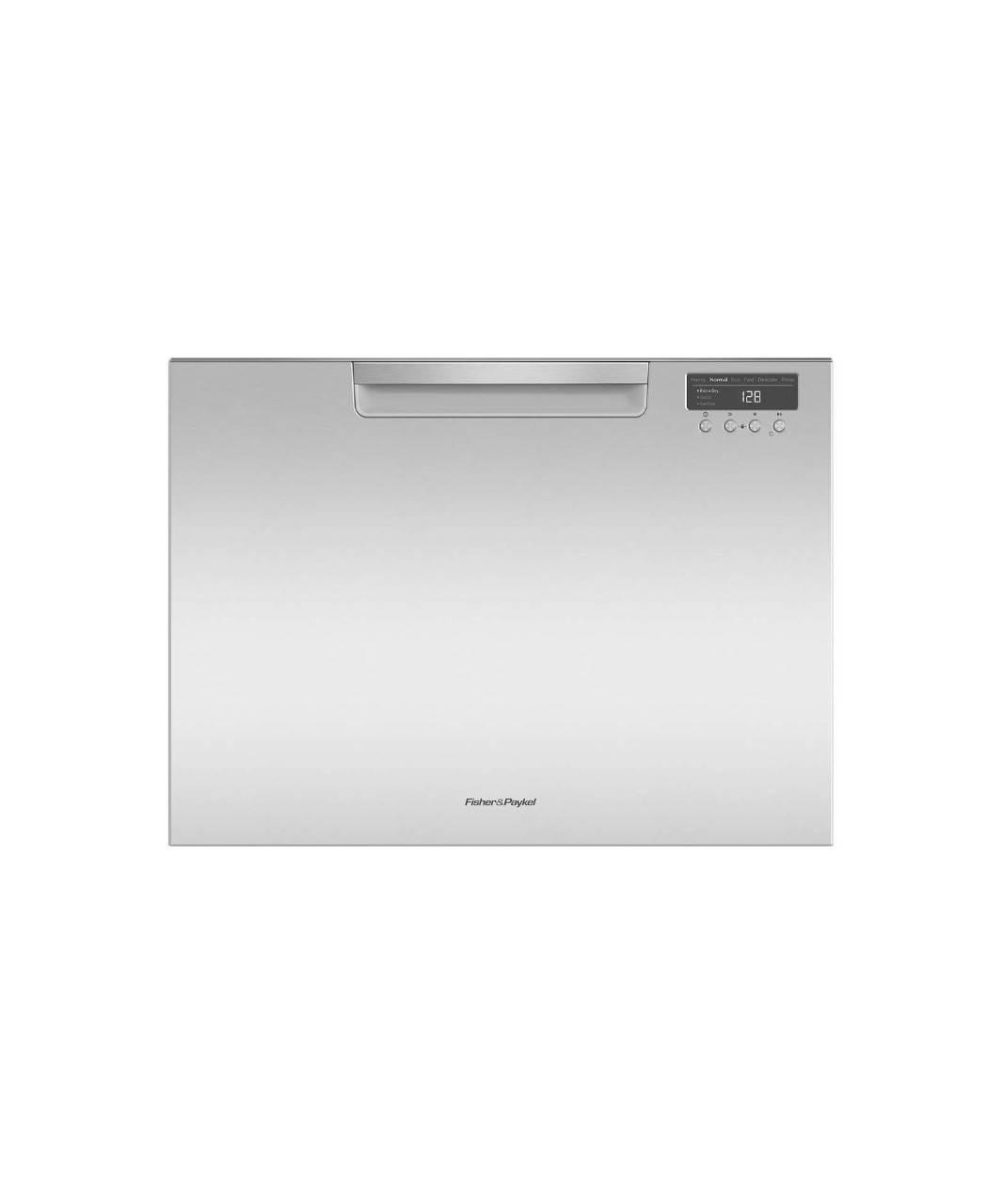 Tall Single DishDrawer dishwasher incl Sanitize, Extra Dry, full flex racking and water softener