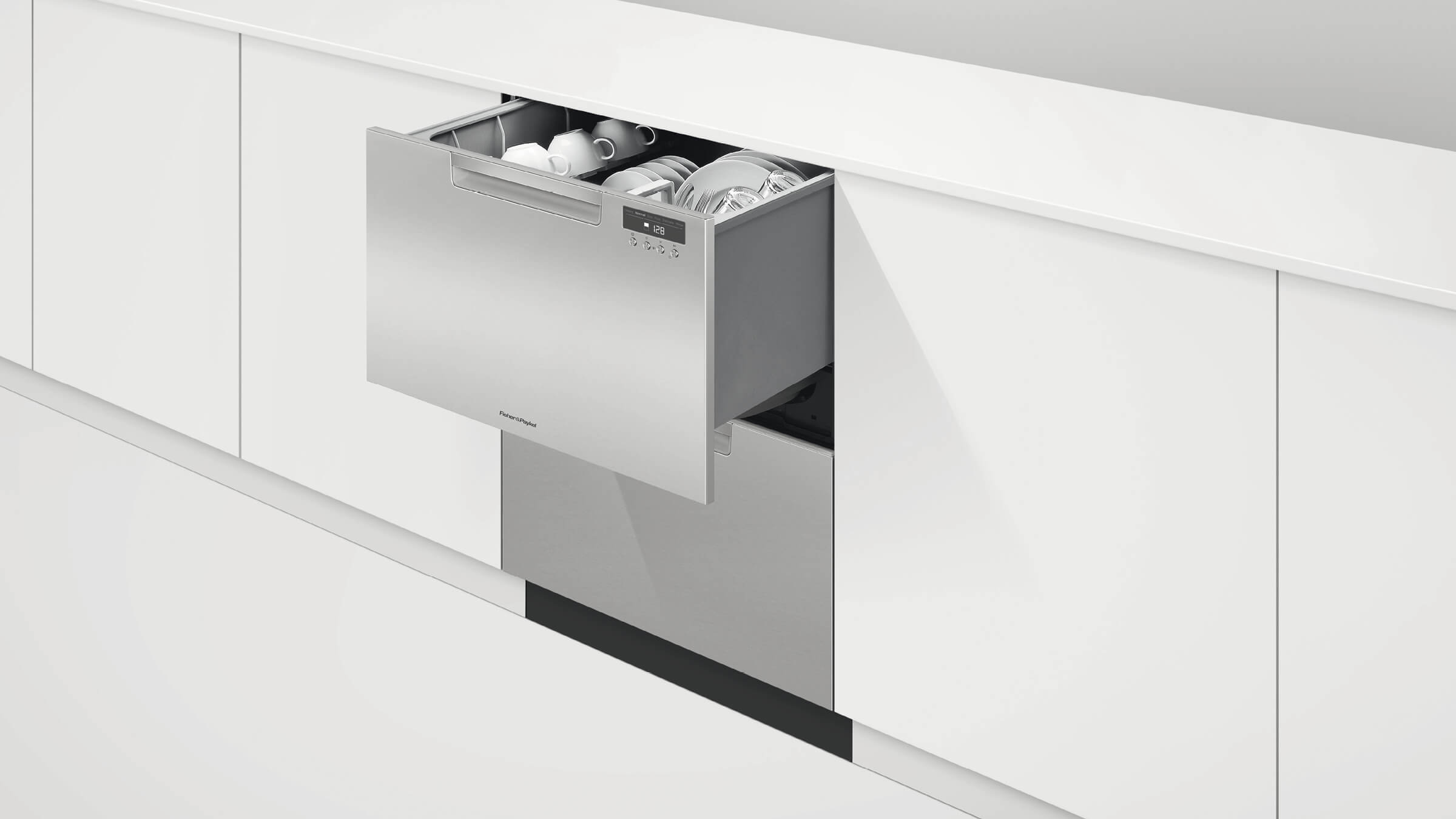 ADA compliant Double DishDrawer dishwasher