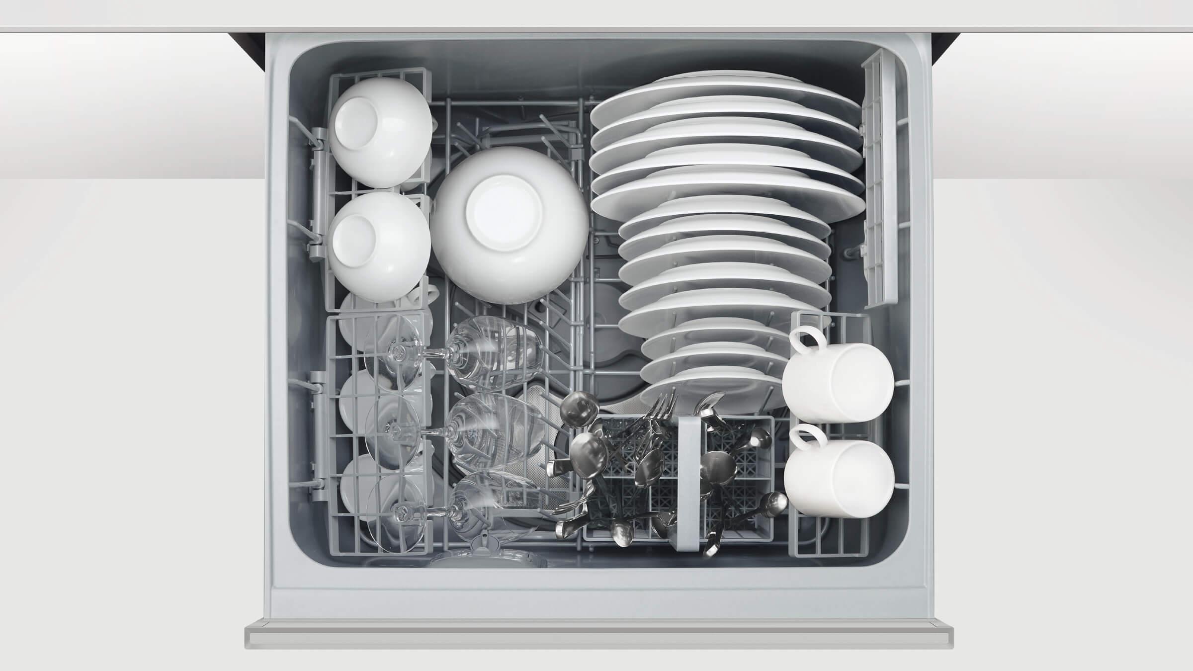 ADA compliant Double DishDrawer dishwasher