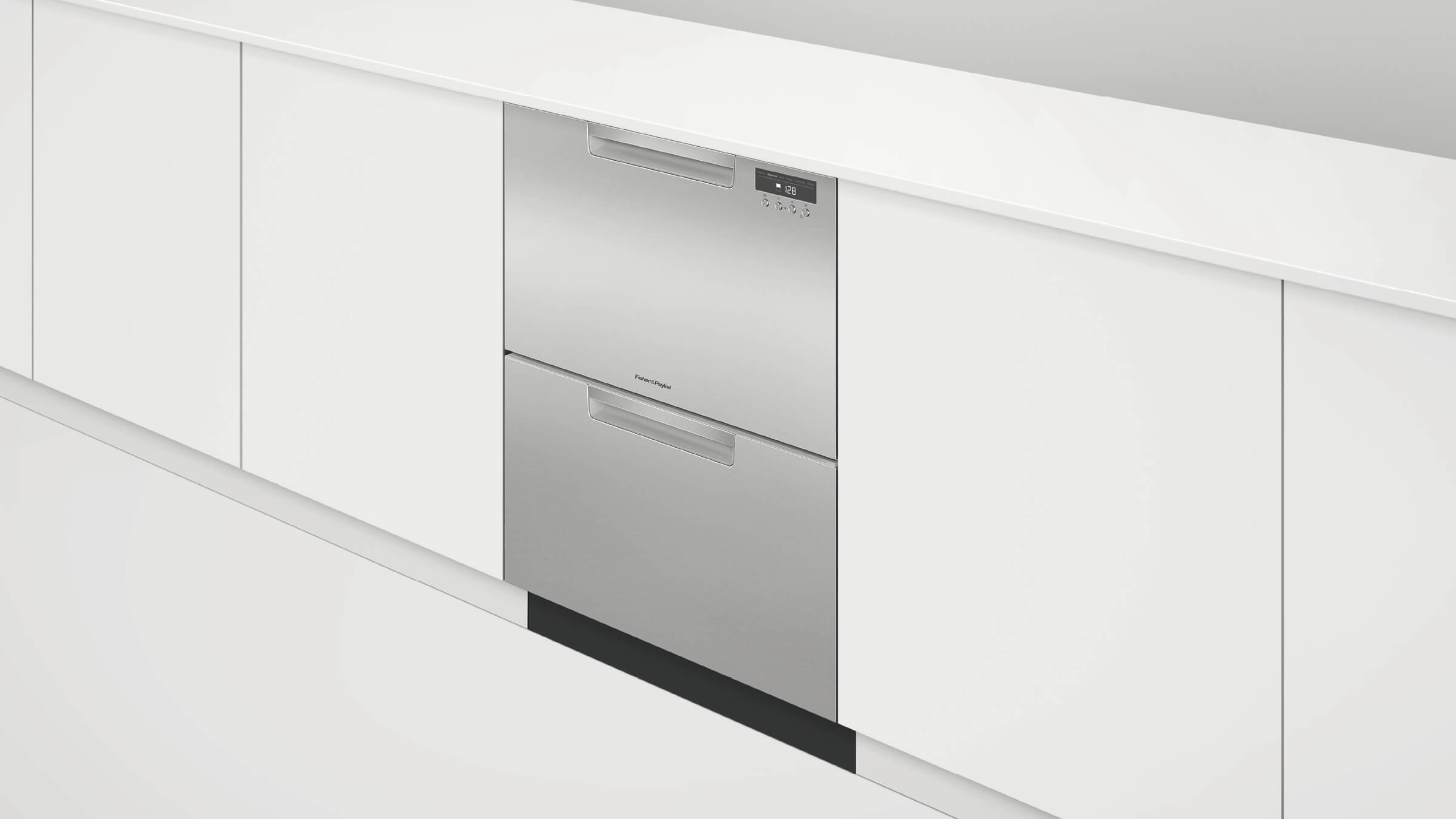 dishwasher lewis youtube drawer dual fisher drawers watch john using with and two paykel a