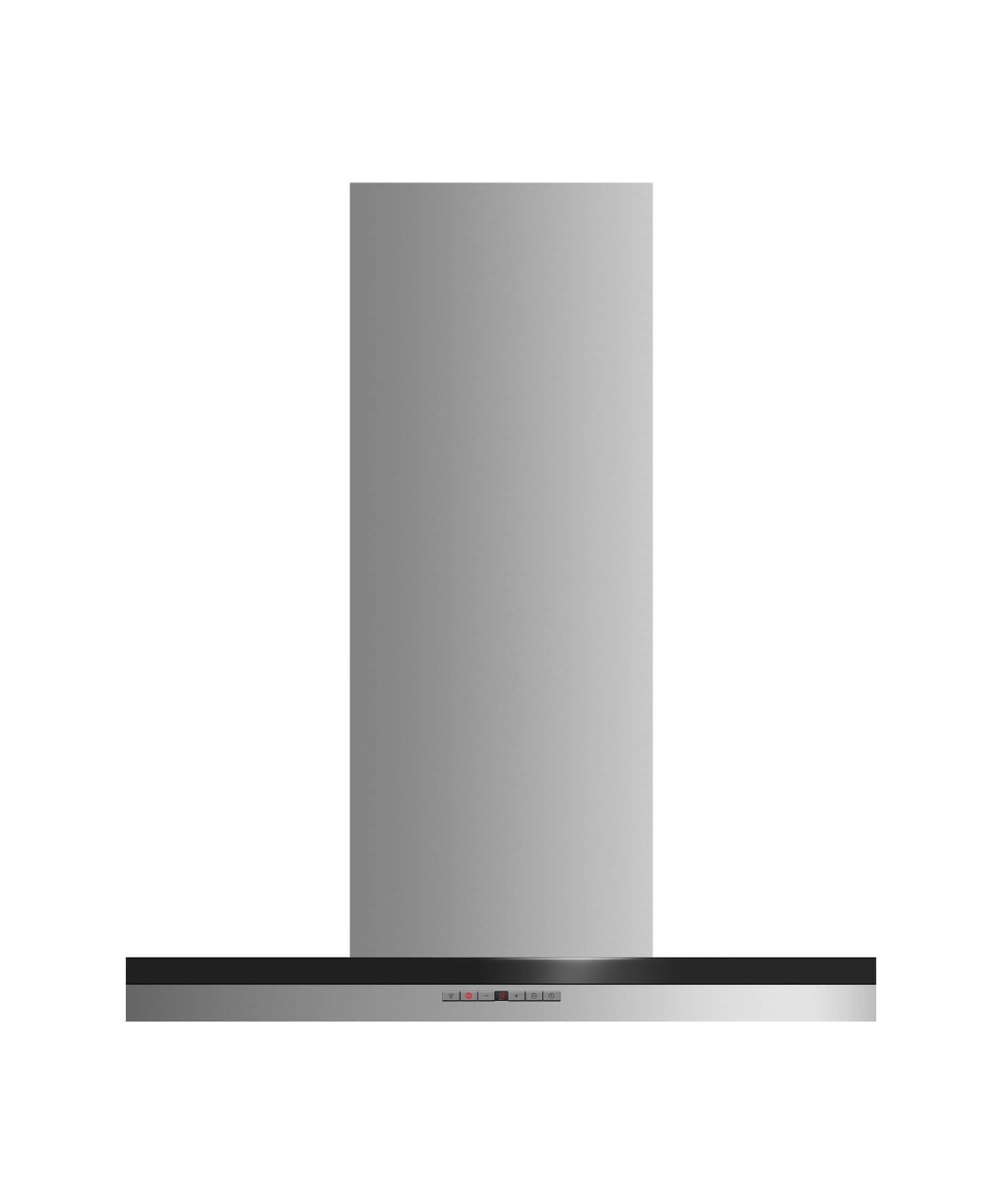 "Fisher and Paykel Display Model--Wall Chimney Vent Hood, 30"", Box"